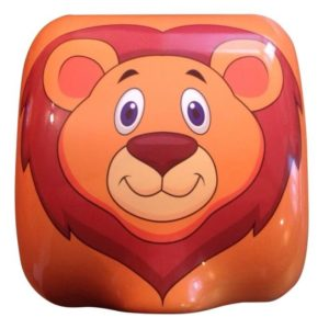 childrens hand dryer lion design